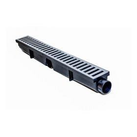 Ralo Linear Seca Piso 6x50 Cm Grelha Em Alumínio Fundido