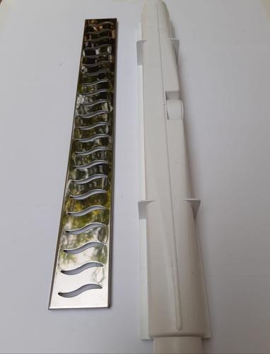 ralo linear sifonavel 6x50 grelha inox com caixa coletora