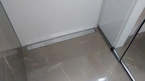 ralo oculto 06x50 invisivel seca piso linear inox (sifonado)