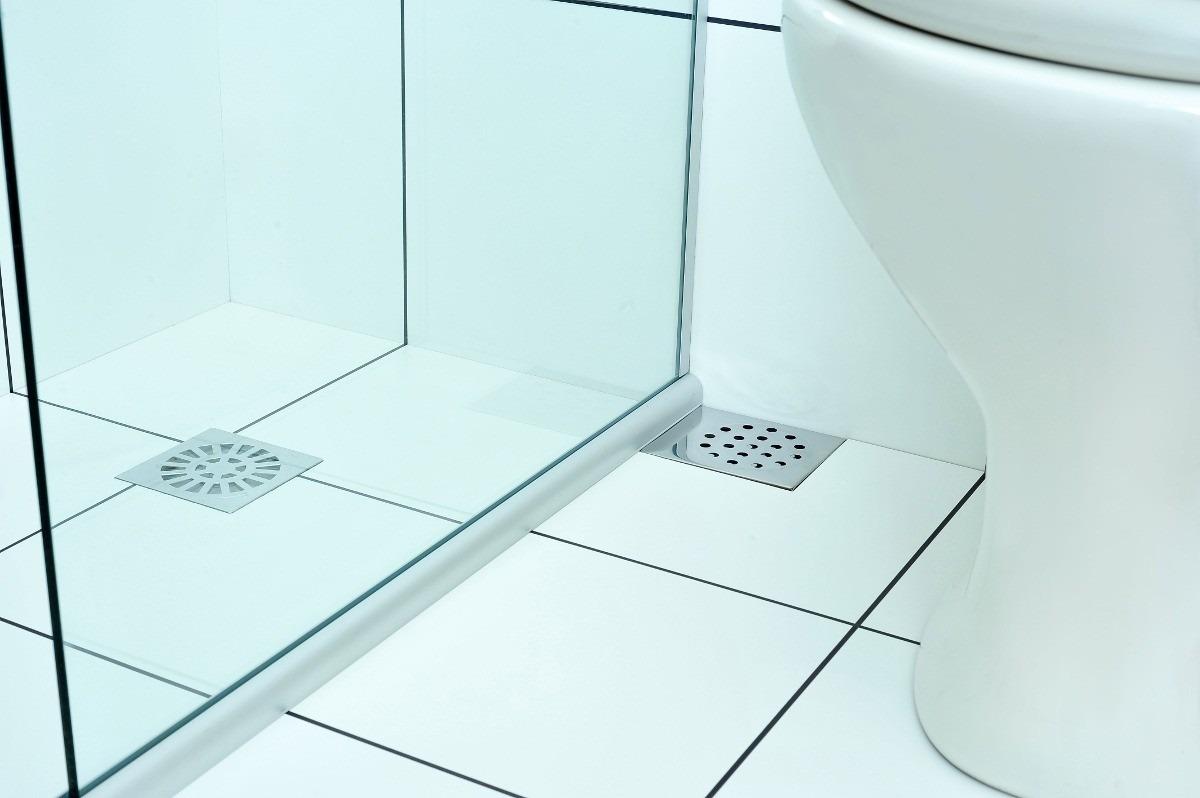 Ralo Pratic Para Box De Banheiro  R$ 14,80 em Mercado Livre -> Ralos De Pia De Banheiro
