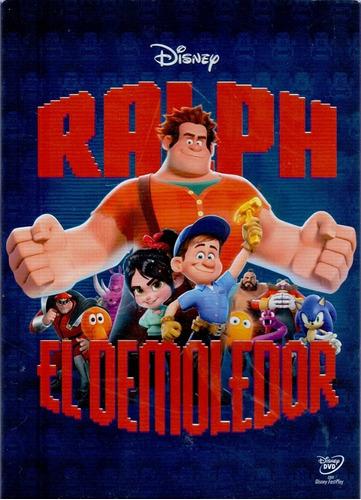 ralph el demoledor cine animacion disney dvd