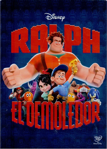 ralph el demoledor disney pelicula dvd