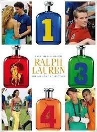 ralph lauren big pony n 2 rojo 125ml + gel de ducha 200ml