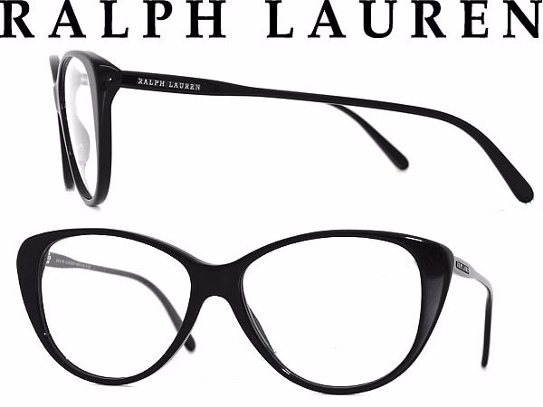 Oculos Retro Grau Ralph Lauren Rl6083 Preto Original Gatinho - R ... 05f03eb5b8