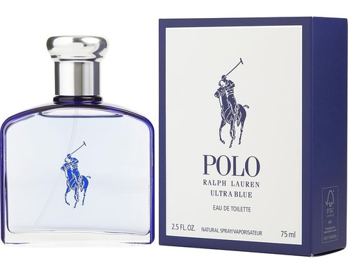 ralph lauren polo ultra blue 75ml  | original + amostra