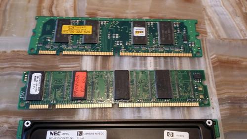ram 128mb memorias