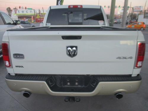 ram 2500 long horn, 4x4, aut, v8, color blanco, modelo 2016