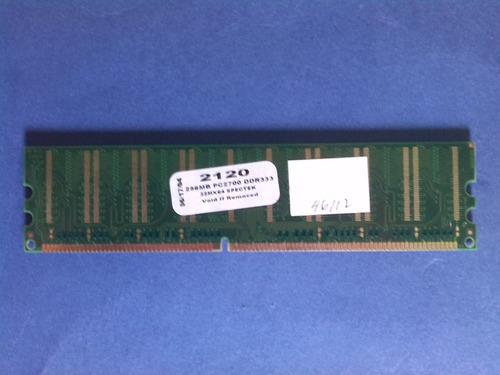 ram 256mb memoria