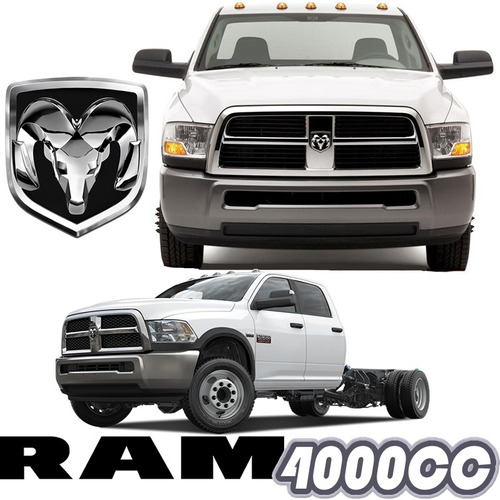 ram 4000 doble cabina aut hemi 5.7 v8 chasis 4x4 at abs rhc