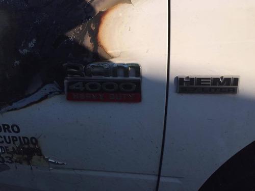 ram 4000 gasolina solo por partes