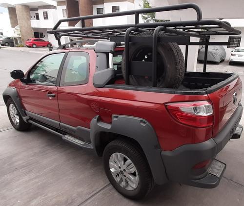 ram 700 1.6 club cab adventure 2016 93,000 km rojo