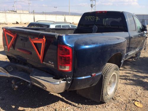 ram big horn 3500 diesel 2006 por partes - s a q -