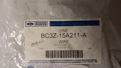 ramal de cable faro antiniebla f-250 f-350 super duty