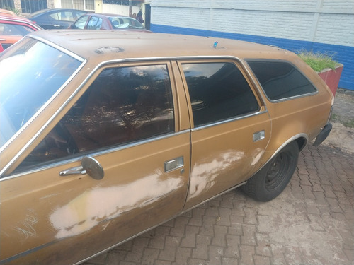 rambler american dl 1981, proyecto para auto antiguo