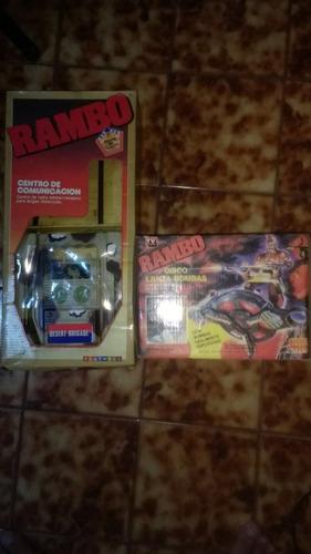 rambo centro de comunicación,disco lanza bombas,1985,jocsa