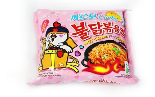 ramen coreano picante carbo 1 pieza 130g  samyang