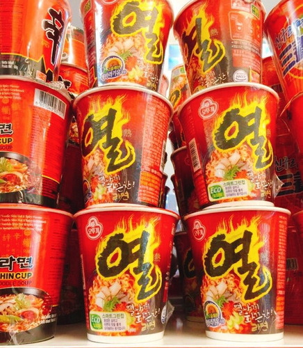 ramen coreano unicos!
