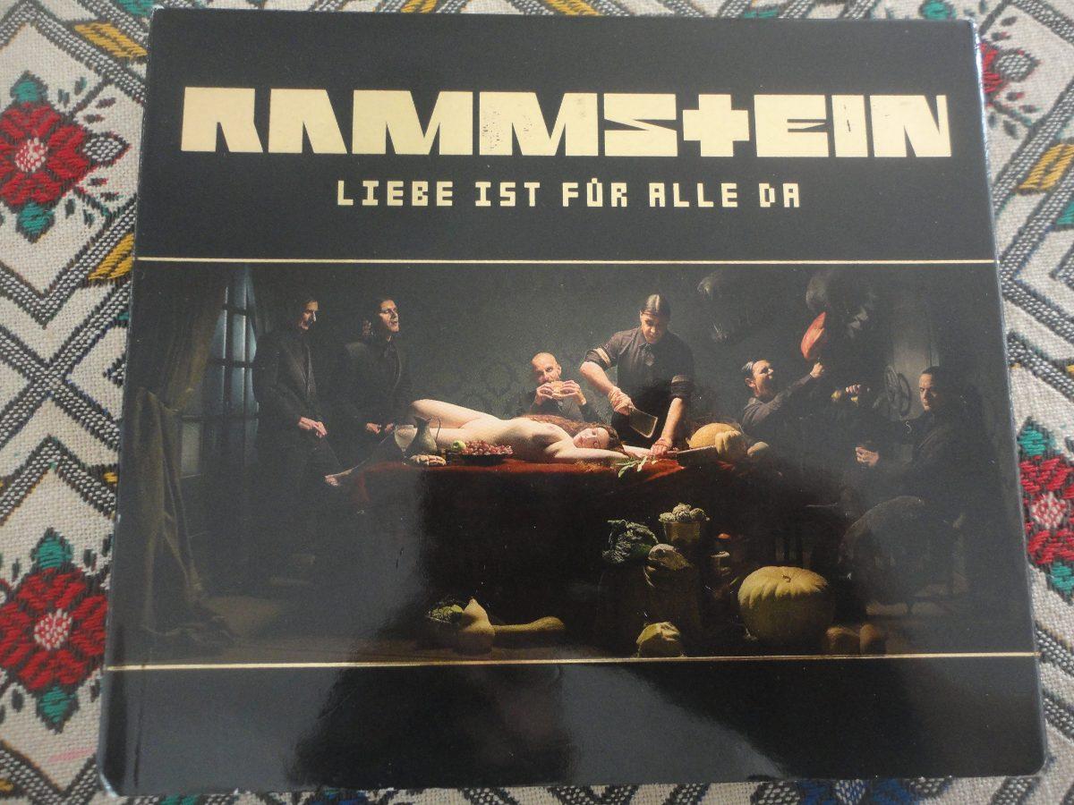 Rammstein Liebe Ist Fur Alle Da 2006 Deluxe Edition Euro R