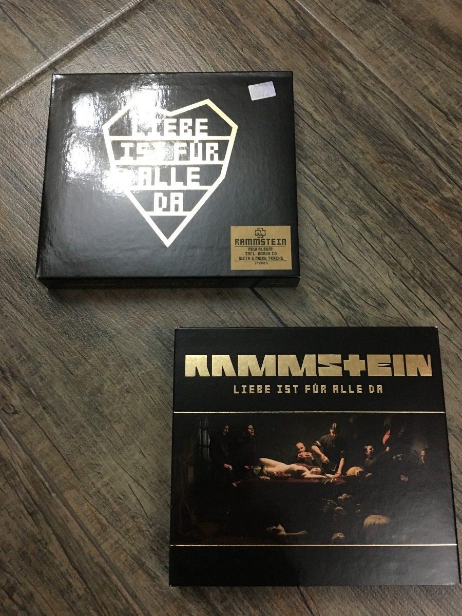 Rammstein Liebe Ist Fur Alle Da Deluxe Edition 1 800 00 En