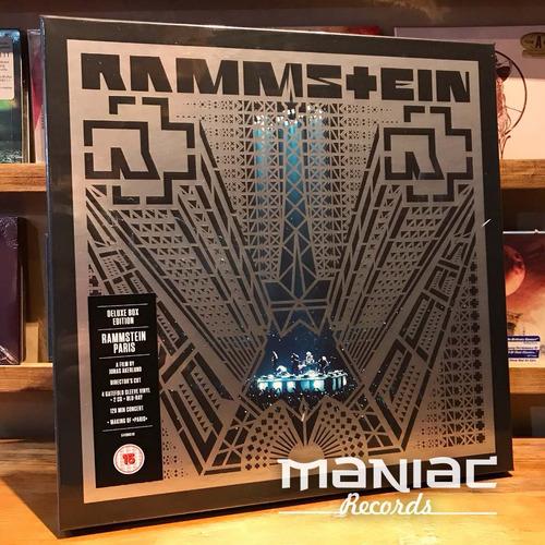 rammstein paris 4 vinilos 2 cds bluray