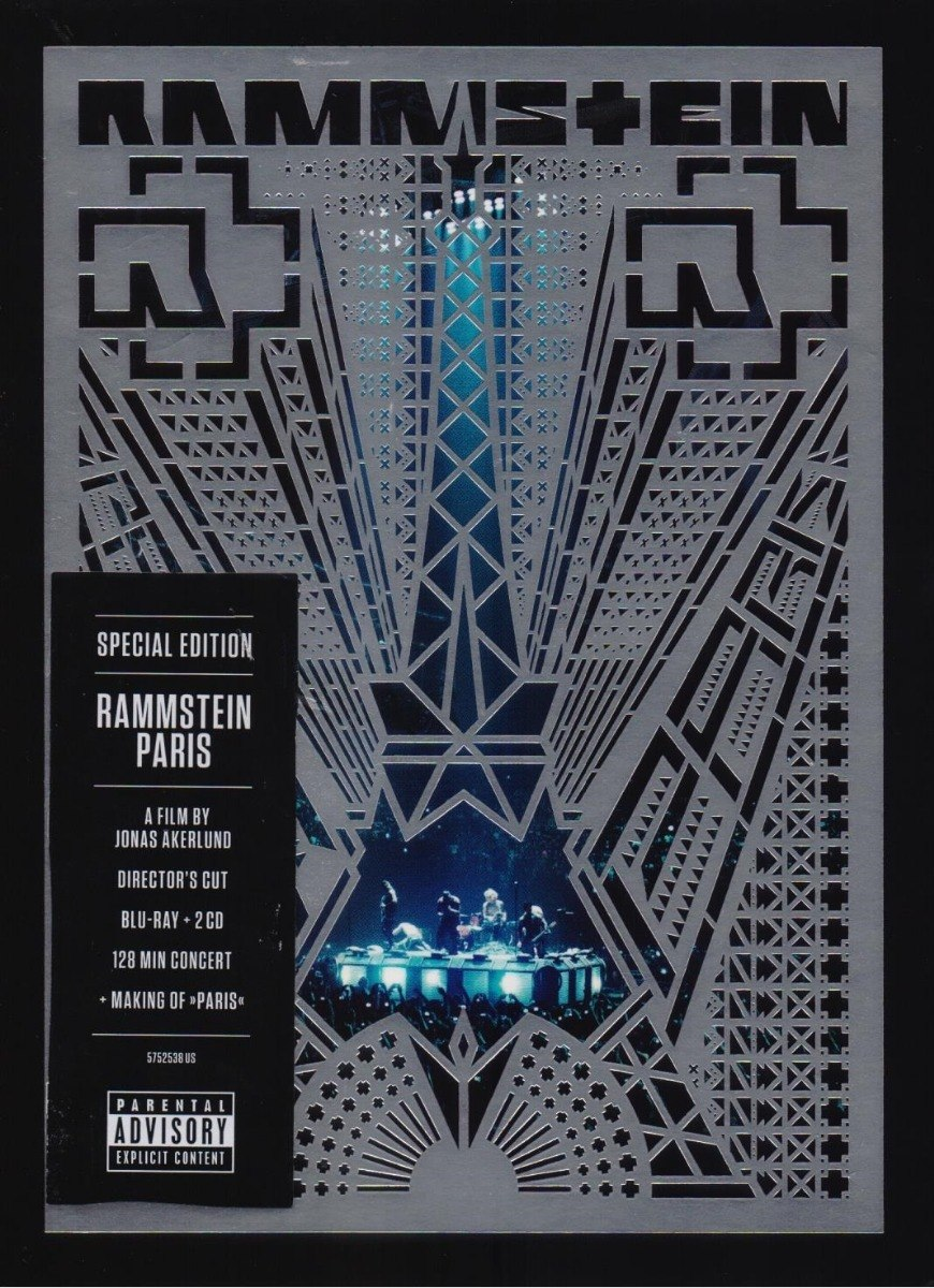 Rammstein Paris Blu Ray
