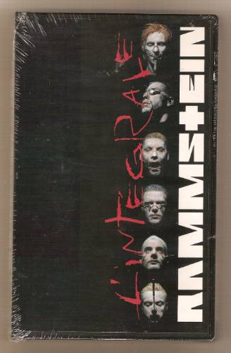 rammstein video vhs l'integrale ed. exclusiva para francia