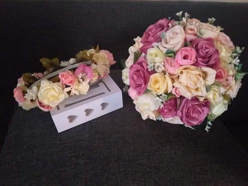 ramo artificial xv y boda