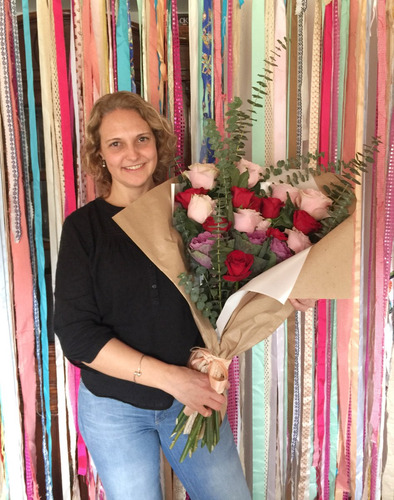 ramo de flores naturales villa adelina novias quince regalo
