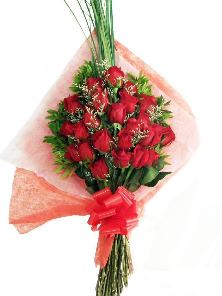 Ramo De Flores Rosas Rojas Importadas C Envíos 184500 En