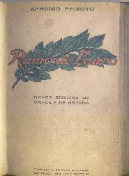 ramo de louro - afranio peixoto - 1a. edição - 1928