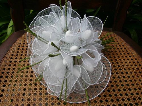 ramo de novia confitado -
