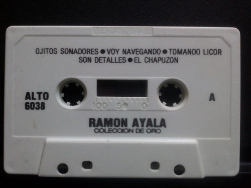 ramón ayala ojitos soñadores cass usado 1ra edición usa 1986