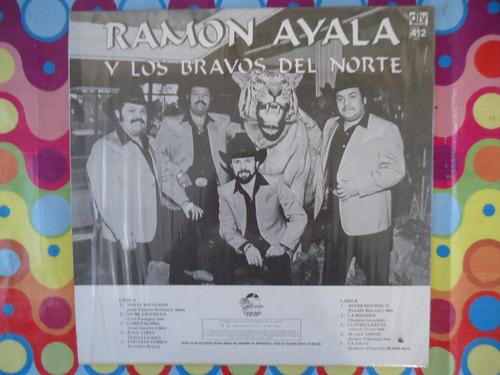 ramon ayala y los bravos del norte lp triste recuerdo 1989