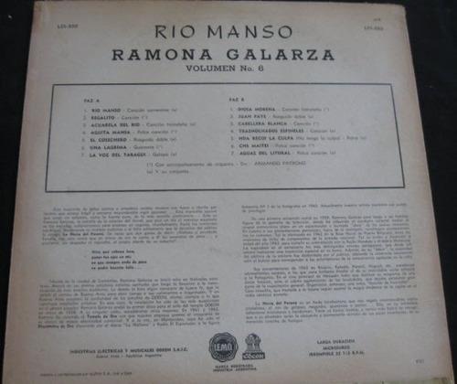 ramona galarza - rio manso