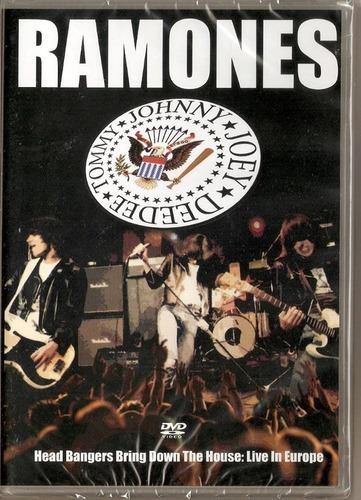 ramones dvd head bangers...r$ 34,90+ frete