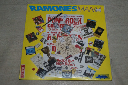 ramones ramones mania  vinilo rock activity