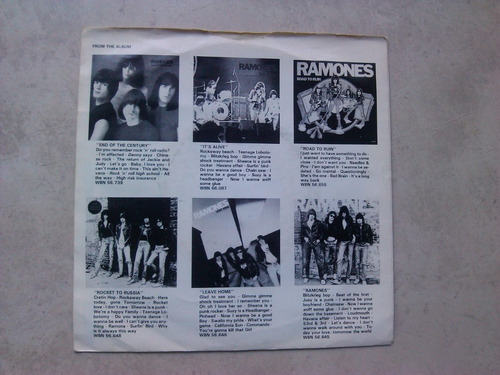 ramones rock n roll high school vinilo 1980 holanda