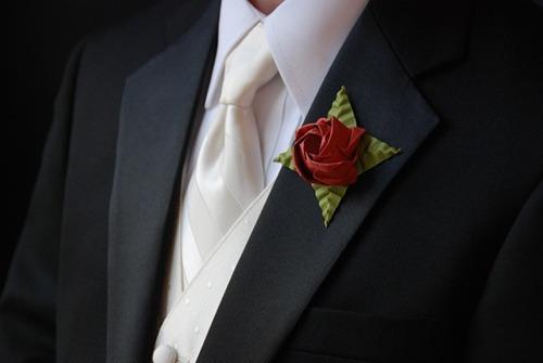 ramos 12 rosas de papel- origami- hermosos y originales!