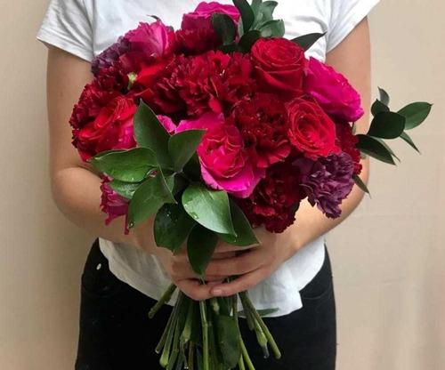 ramos / bouquet de rosas para regalar.
