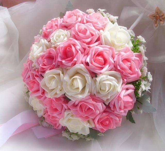 Ramos Bouquet Grande Para Quinceanera Xv Anos Novia Boda 650 00