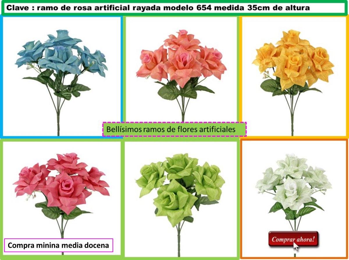 Ramos de flores decorativas lbf en mercado libre for Plantas decorativas