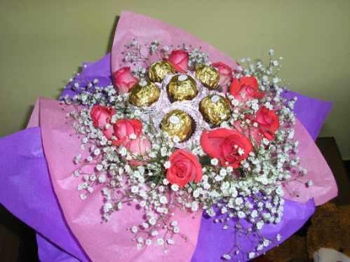 ramos de flores,bombones ferrero rocher! entrega s/c capital
