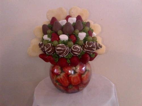 ramos de frutas, arreglos frutales, frutas