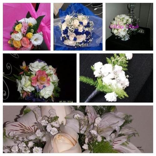 ramos de novia flores naturales bodas civil ceremonias