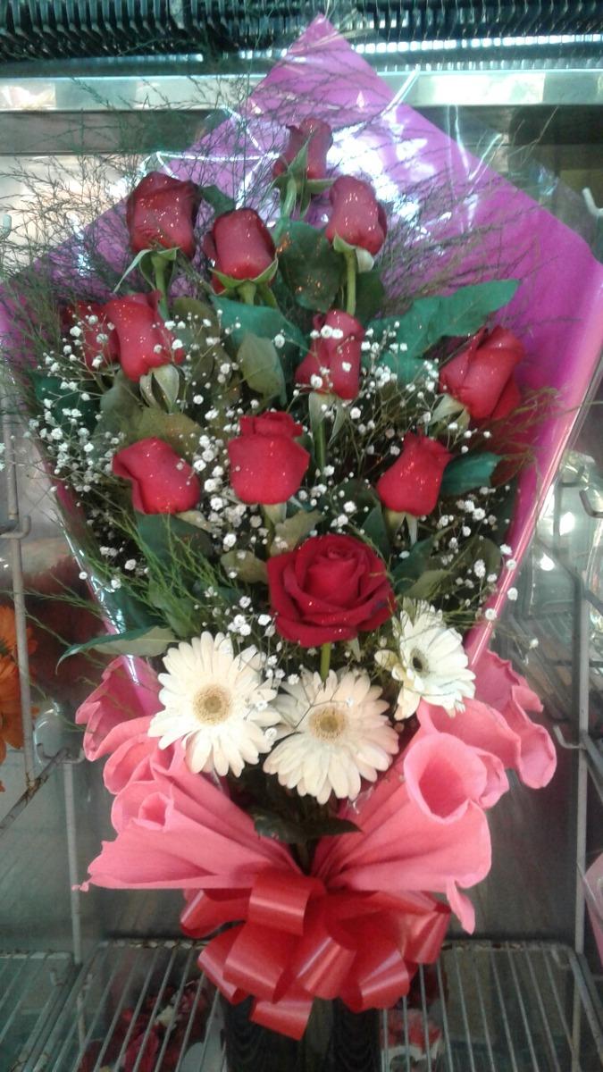 Ramos Flores Rosas Envios S Cargo Zona Oeste 600 60000 - Fotos-ramos-de-flores