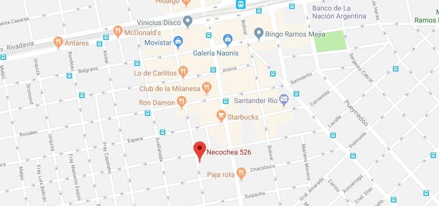 ramos mejia centro - chalet 5 amb con garage necochea al 500