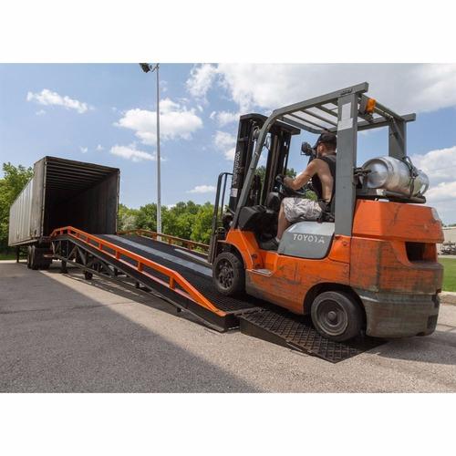 rampa 11m para 10 toneladas equus. descarga de containers