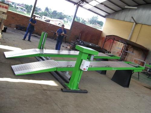 rampa de geometria e alinhamento - 4000 kg
