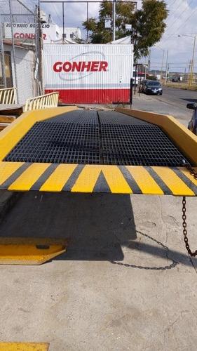 rampa de piso 10 toneladas