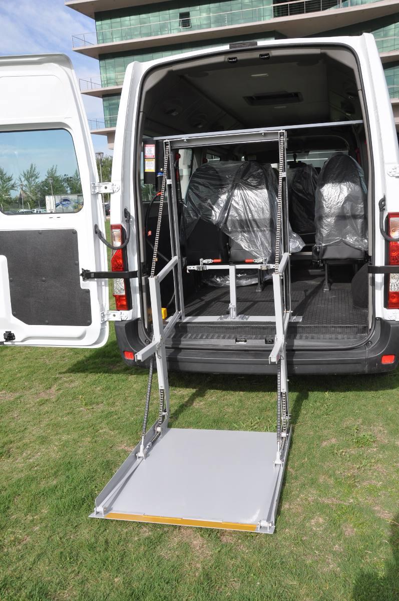 Rampa Electromecanica Para Discapacitados En Utilitarios